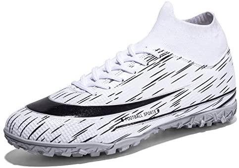 Men's Soccer Boots Football Shoes Running Walking Athletic Shoes for Outdoor/Indoor