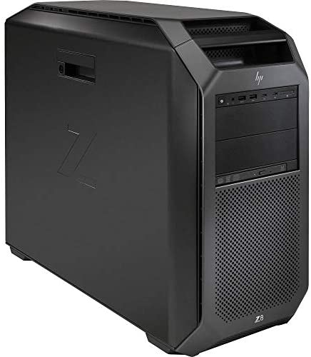 HP Z8 G4 Workstation 2X Silver 4110 Eight Core 2.1Ghz 1.5TB RAM 250GB NVMe Quadro P4000 Win 10 (Renewed)