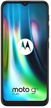 Motorola Moto G9 Play XT2083 Dual-SIM 64GB + 4GB RAM (GSM Only | No CDMA) Factory Unlocked 4G/LTE Smartphone (Sapphire Blue) – International Version