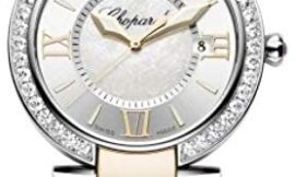 Chopard Women's Imperiale Rose Gold and Steel Diamond Watch 388532-6004