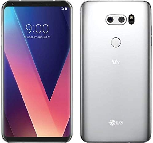 LG – V30 64GB – Cloud Silver (Verizon) (Renewed)
