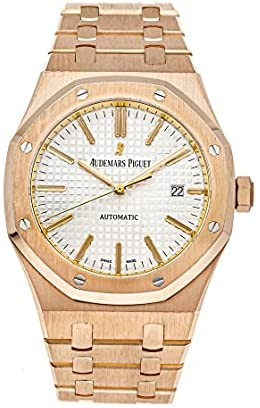 Audemars Piguet Royal Oak Mechanical(Automatic) Silver Dial Watch 15400OR.OO.1220OR.02 (Pre-Owned)