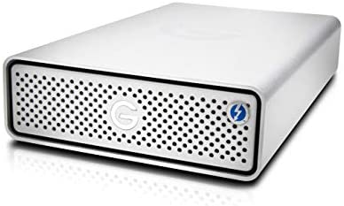 G-Technology 18TB G-DRIVE with Thunderbolt 3 and USB-C Desktop External Hard Drive, Silver – 0G10804-1