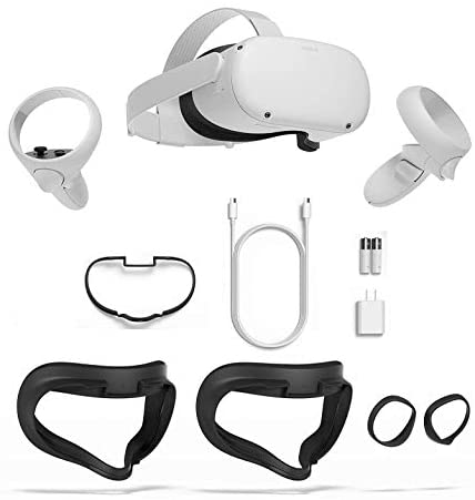 Oculus Quest 2 256gb Advanced All-in-One Virtual Reality Headset with Etechrus Accessories Bundle