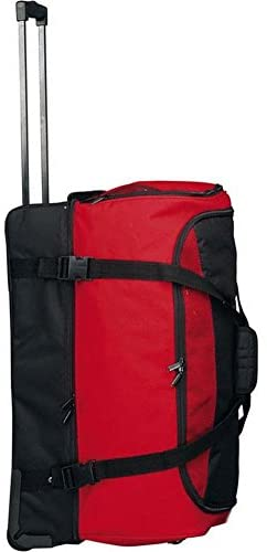 Preferred Nation Rolling Soft Trunk, Red/Black, One Size