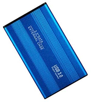 External Hard Drives Mobile Hard Drive Data Storage Ultra-Thin High-Speed Portable USB3.0 125mm75mm11mm (1TB,C)