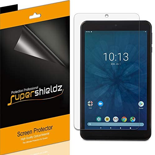 (3 Pack) Supershieldz Designed for Onn 7 inch Tablet Screen Protector, High Definition Clear Shield (PET)