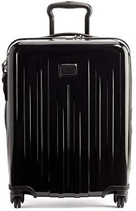 TUMI – V4 Continental Expandable 4 Wheeled Carry-On – 22 Inch Hardside Luggage for Men and Women – Black