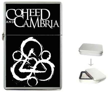 New Order Coheed And Cambria American Rock Flip Top Lighter +Free Gift Box + Free Ship