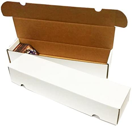 (25) 930 Count Corrugated Cardboard Storage Boxes by Max Pro for Baseball, Football, Basketball, Hockey, Nascar, Sportscards, Gaming & Trading Cards Collecting Supplies