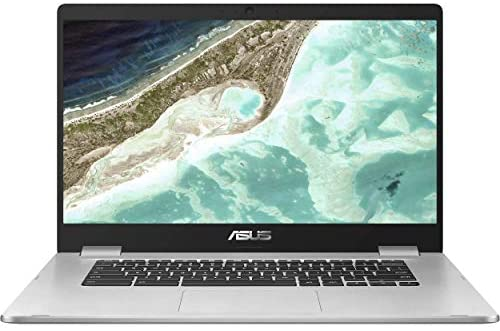 Asus C523NA Chromebook 15.6″ FHD Laptop Computer_ Intel Celeron N3350 up to 2.4GHz_ 4GB DDR4 RAM_ 64GB eMMC_ 802.11ac WiFi_ Bluetooth_ USB 3.1_ Webcam_ Online Class Ready_ Chrome OS_ BROAGE Mousepad