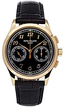 Patek Philippe Complications Manual Wind Black Dial Watch 5170R-010 (Pre-Owned)