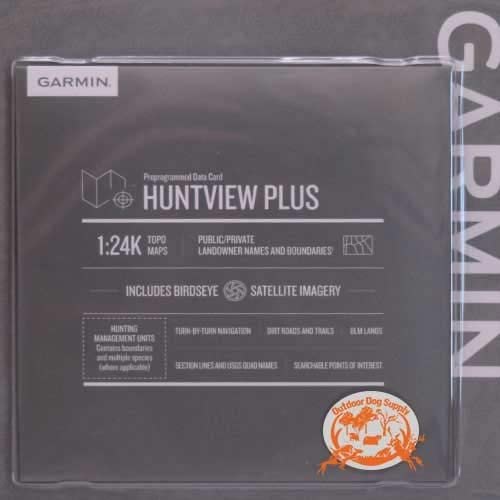 Garmin Huntview Plus, Preloaded microSD Cards with Hunting Management Units for Garmin Handheld GPS Devices, South Carolina