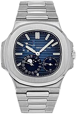 Patek Philippe Nautilus Mechanical(Automatic) Blue, Black Dial Watch 5712/1A-001 (Pre-Owned)
