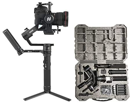 FeiyuTech AK4500 3-Axis Gimbal Stabilizer for Mirrorless & DSLR Camera Sony A7M3 A7R3,Canon 1DX 6D 5D IV,Panasonic GH5 GH5S,Nikon D850,Versatile Structure,4.6kg Payload w/Follow Focus,Rmote Control
