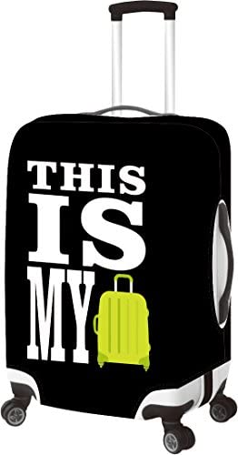 Primeware This is My- Luggage Cover Medium, This is My, M(22-26 Inch)