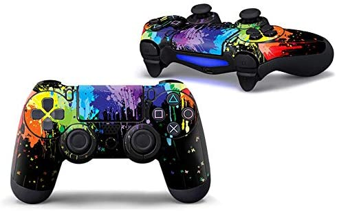Sololife Paint PS4 Controller Skin Stickers for Sony Playstation 4 DualShock Wireless Controller