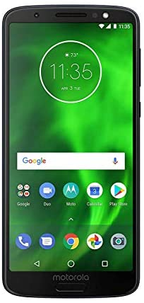 Motorola G6 MOTXT192512-32GB – Black (Verizon) Smartphone (Renewed)