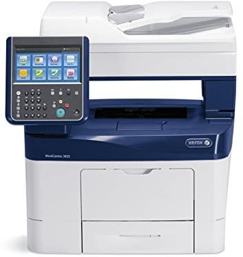 Xerox WorkCentre 3655/S Monochrome Multifunction (Copy, Email, Print, Scan) Printer (Renewed)