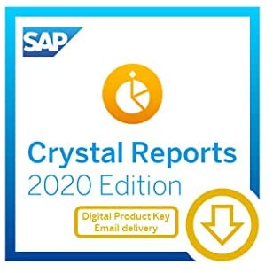 SAP Crystal Reports 2020 Reporting Software [64-Bit] [PC Download]