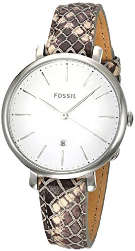 Fossil Jacqueline – ES4631 Silver/Snake One Size