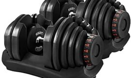 Gorilla Gadgets Adjustable Dumbbells 10-90 lbs, Compact Gym Weights, 17 Weight Sets in One for Women and Men, Perfect for Home, Office, Traveling (Pair)
