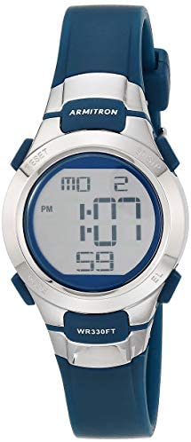 Armitron Sport Women's Digital Chronograph Resin Strap Watch, 45/7012