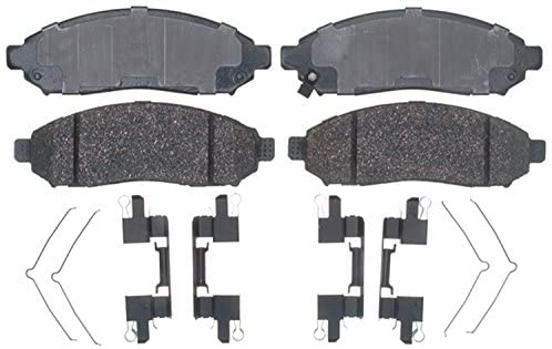 ACDelco Gold 17D1094CH Ceramic Front Disc Brake Pad Set