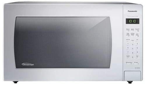 Panasonic NN-SN946W 2.2 cu. ft. Oven Capacity 1250W Cooking Power Inverter Technology and Turbo Defrost Countertop Microwave Oven (Renewed)