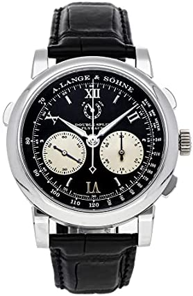 A. Lange & Sohne Saxonia Manual Wind Black Dial Watch 404.035 (Pre-Owned)