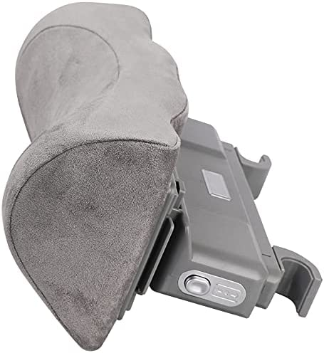 Canler Car Neck Pillow, Auto Seat Adjustable Headrest for Driver Seat, Cervical Support Accessory, Head Rest Pillows for Neck Pain [Memory Foam] -Grey