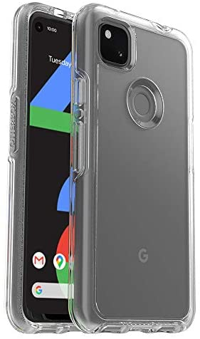 OtterBox Symmetry Clear Series Case for Google Pixel 4a (ONLY, Not Compatible with 5G Version) – Clear