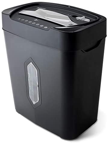 Aurora AU1230XA Anti-Jam 12-Sheet Crosscut Paper and Credit Card Shredder with 5.2-gallon Wastebasket (Renewed)