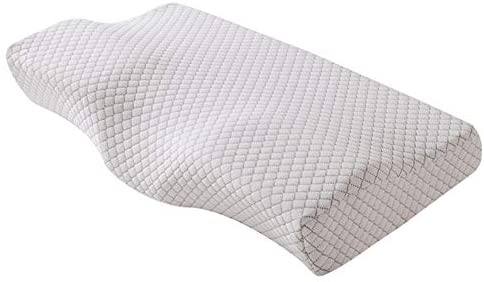 Contour Memory Foam Pillow Orthopedic Sleeping Pillows, Neck Pillows for Pain Relief Sleeping, Orthopedic Neck Pillow with Washable Cover, Bed Pillows for Back , Side Sleepers