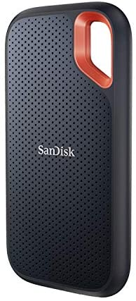 SanDisk 2TB Extreme Portable SSD – Up to 1050MB/s – USB-C, USB 3.2 Gen 2 – External Solid State Drive – SDSSDE61-2T00-G25