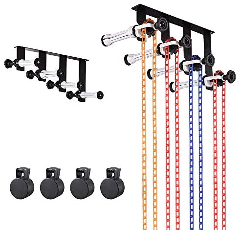 AW 4 Roller Backdrop Support System Wall Ceiling Mount Studio Live Stream Game Video Background Holder Kit