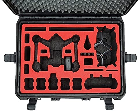 Professional Carrying Case for DJI FPV Combo Also with Bracers – Fly More Set – Carrying Case – Made in Germany