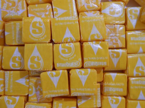 Lemon Starburst Chewy Yellow Starburst Candy 2lbs by CandyMafia