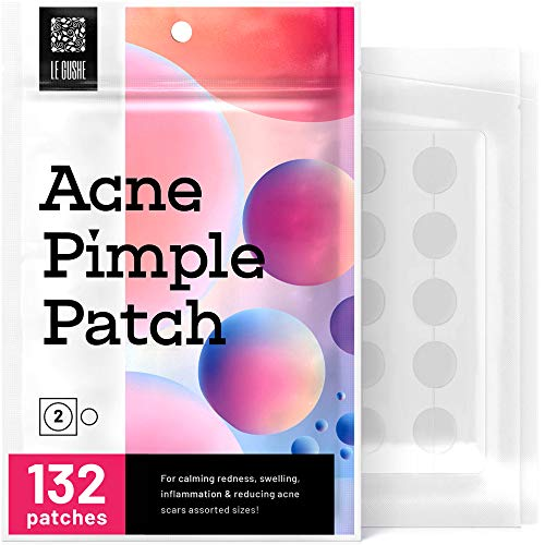 Acne Pimple Master Patch 132 dots – Absorbing Hydrocolloid Blemish Spot Skin Treatment and Care Dressing