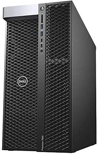 Dell Precision Tower 7920 Workstation 2X Gold 5118 12C 2.3Ghz 64GB 500GB SSD M4000 Win 10 (Renewed)