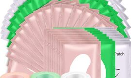 9 Rolls Eyelash Tape Eyelash Extension Tape with 60 Pairs of Eyelash Extension Patches, Breathable Fabric Lash Tape Under Eye Gel Pads for Eyelash Extension Supply, Eye Mask Eye Patches Beauty Tool