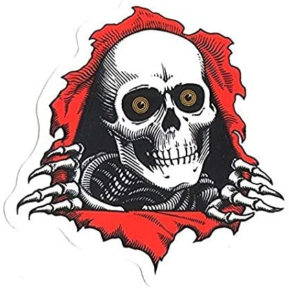 Powell-Peralta Ripper Skateboard Decal Sticker – Peel N Stick Sticker Graphic Decal