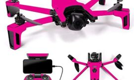 MightySkins Skin Compatible with Parrot Anafi Drone – Solid Hot Pink | Protective, Durable, and Unique Vinyl Decal wrap Cover | Easy to Apply, Remove, and Change Styles | Made in The USA