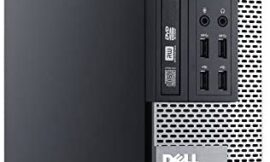 Dell Optiplex 9020 SFF High Performance Premium Business Desktop Computer, Intel Core i7-4770 up to 3.9GHz, 16GB RAM, 1TB HDD, WiFi, Windows 10 Pro (Renewed)