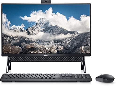 2021 Newest Dell Inspiron 5000 All in One Desktop 24″ FHD Display, Intel Pentium Gold Processor 7505, 8GB DDR4 RAM, 256GB PCIe NVMe SSD, WiFi, Webcam, Wired Mouse&Keyboard, Win10 (Latest Model)