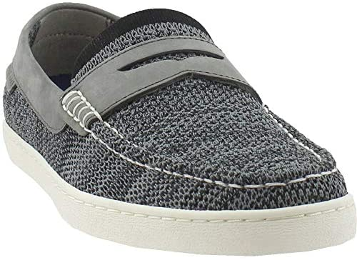 Cole Haan Mens Pinch Weekend Knit Loafers Casual Shoes – Grey