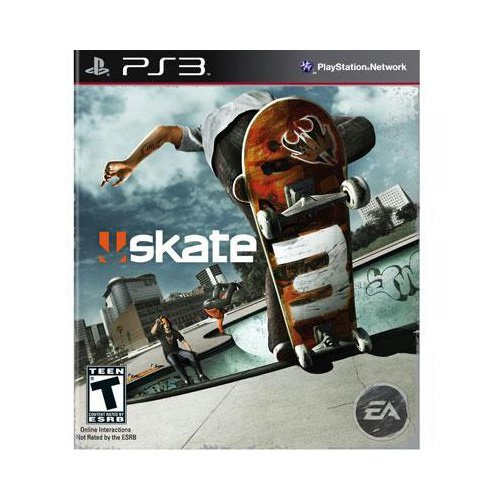 New Electronic Arts Skate 3 Sports Game Playstation 3 Excellent Performance High Quality