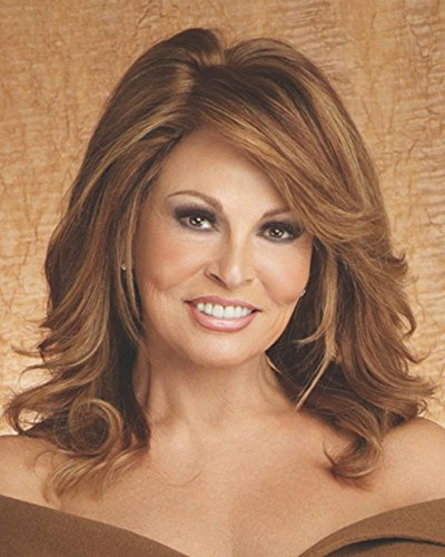 Raquel Welch Bravo Shoulder Length Layered Comfort Cap Wig, Glazed Cinnamon by Hairuwear