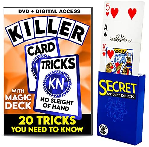 Magic Makers Killer Card Tricks with Magic Deck – No Sleight of Hand Required