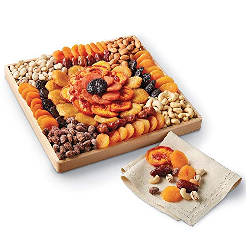 Harry & David Dried Fruit and Nut Tray